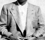 Rajarsi Janakananda Wearing a Christian Cross