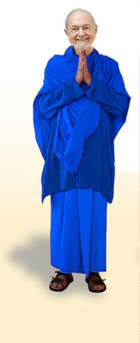 Swami Kriyananda bowing