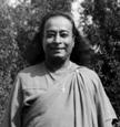 Yogananda Wearing a Christian Cross - 03
