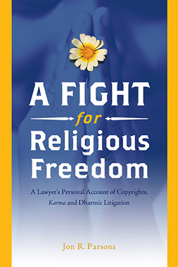 cover image of a fight for religious freedom by attorney jon parsons